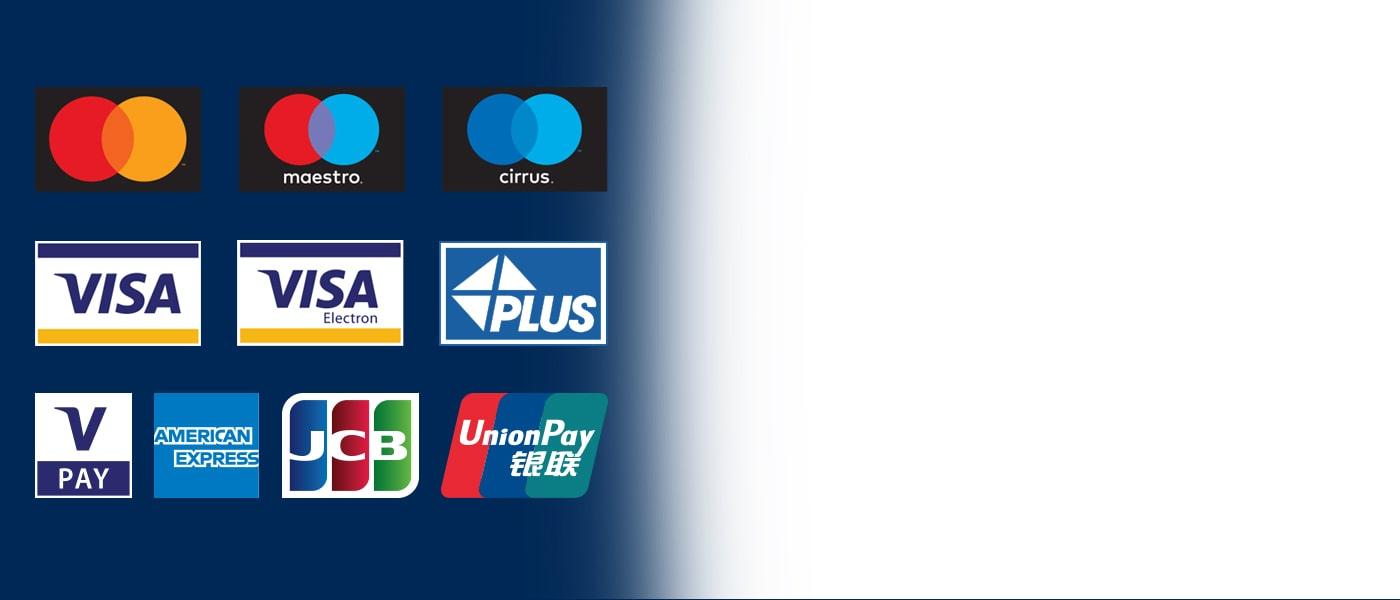 Euronet bankomatai prima visų tipų korteles