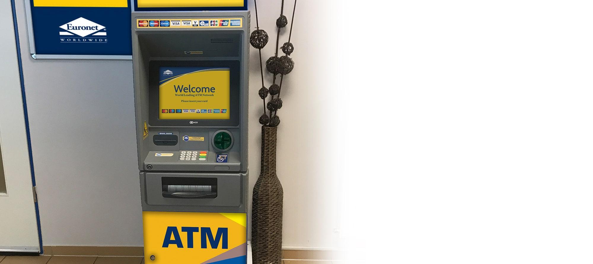 Mes valdysime ir prižiūrėsime jūsų bankomatą, užtikrindami aukštą jūsų klientų aptarnavimo lygį.
